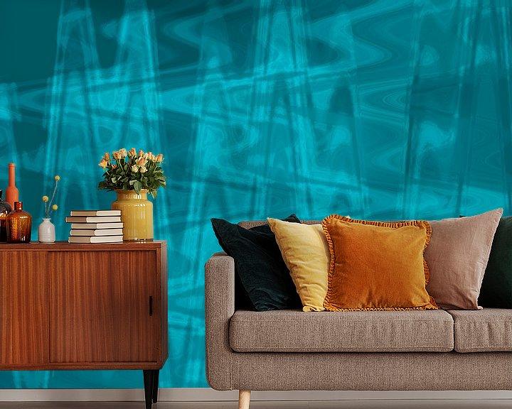 Beispiel fototapete: Kunstdruck, Muster, Farben von ines meyer