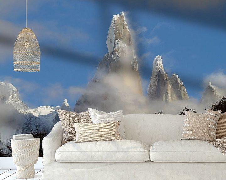 Sfeerimpressie behang: Cerro Torre van Heike und Hagen Engelmann