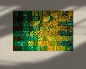 Kunstdruck Farbenspiel von ines meyer