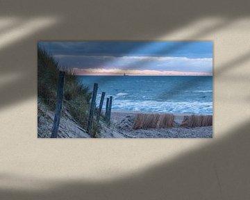 November Beach part 2 van Alex Hiemstra