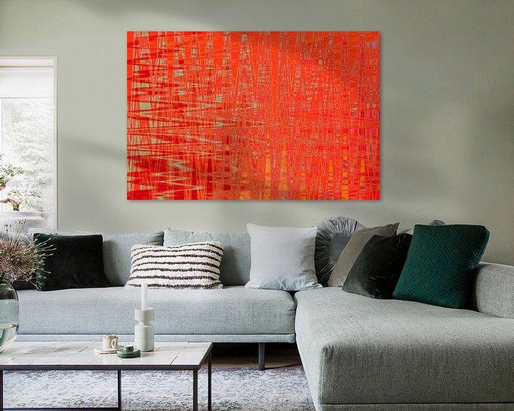 Beispiel: Kunstdruck, Muster, Farben von ines meyer