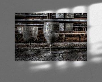 Verlassene Glaswaren von Eus Driessen