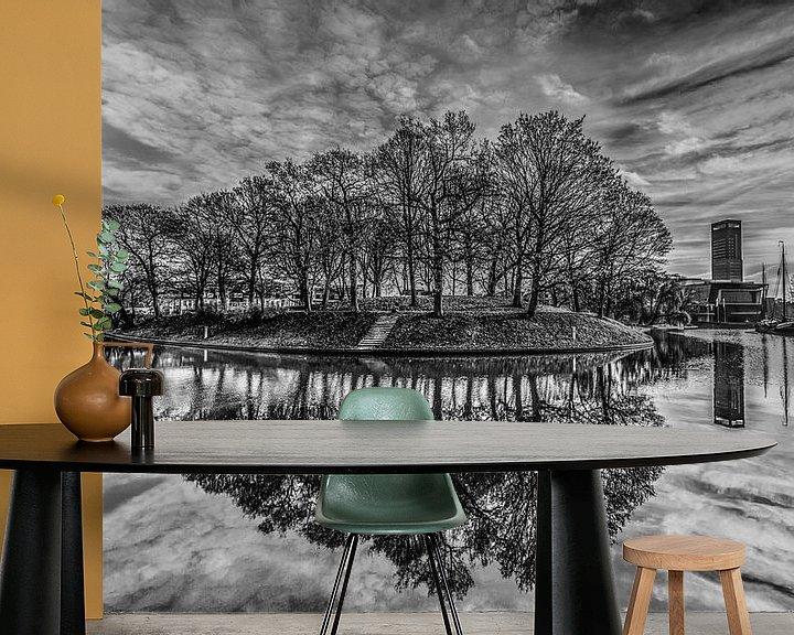 Sfeerimpressie behang: Dwinger Oldehove van Harrie Muis