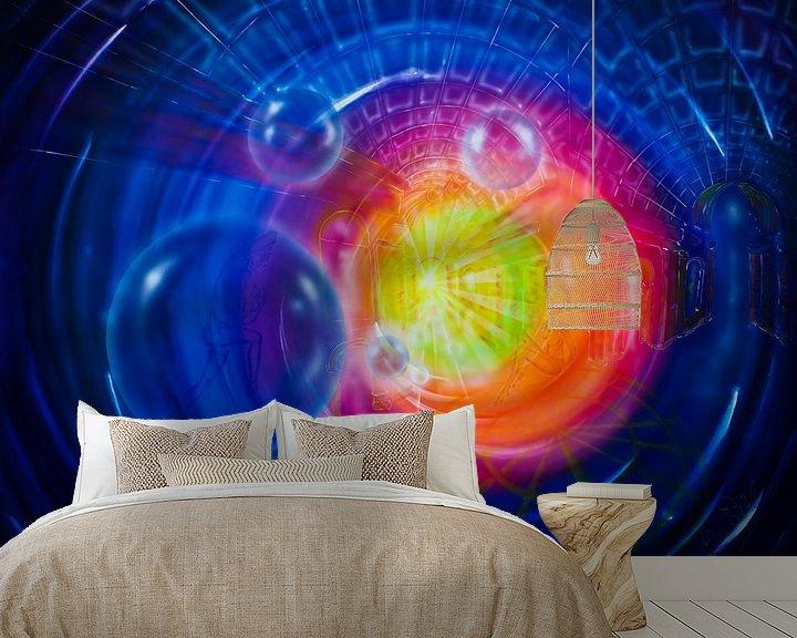 Sfeerimpressie behang: Atrium van Walter Zettl