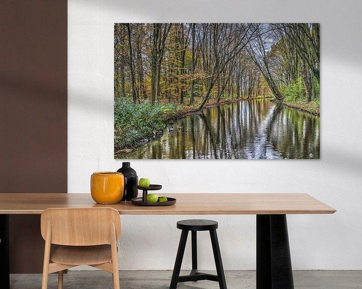 Sfeerimpressie: November in het Zuiderpark, Rotterdam van Frans Blok
