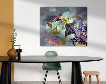 Abstrakte Blüte von Peter Norden