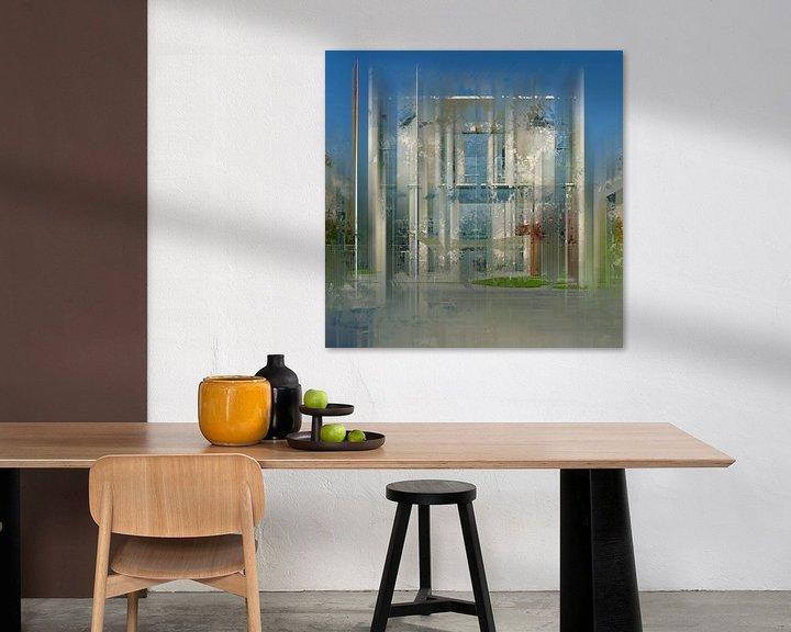 Sfeerimpressie: City-Art BERLIN German Chancellery  van Melanie Viola