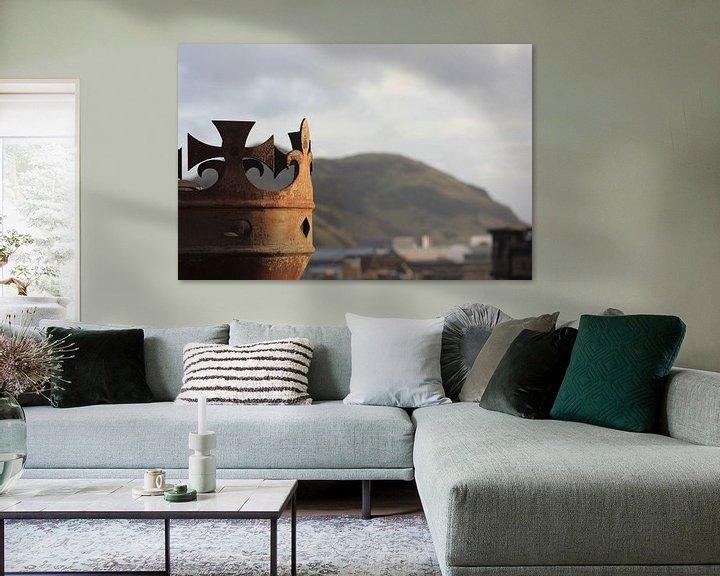 Sfeerimpressie: edinburgh castle van Dennis Debie