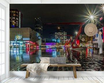 Het Schouwburgplein in Rotterdam van MS Fotografie | Marc van der Stelt