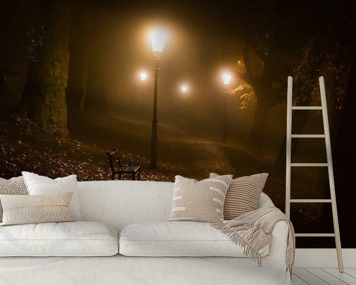 Sfeerimpressie behang: Novembernacht van Tvurk Photography