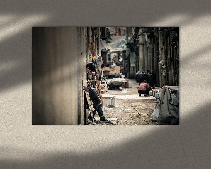 Sfeerimpressie: Lonesome Dialogues van Cho Tang