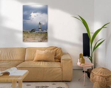 Leuchtturm  von Warnemünde von Ostsee Bilder