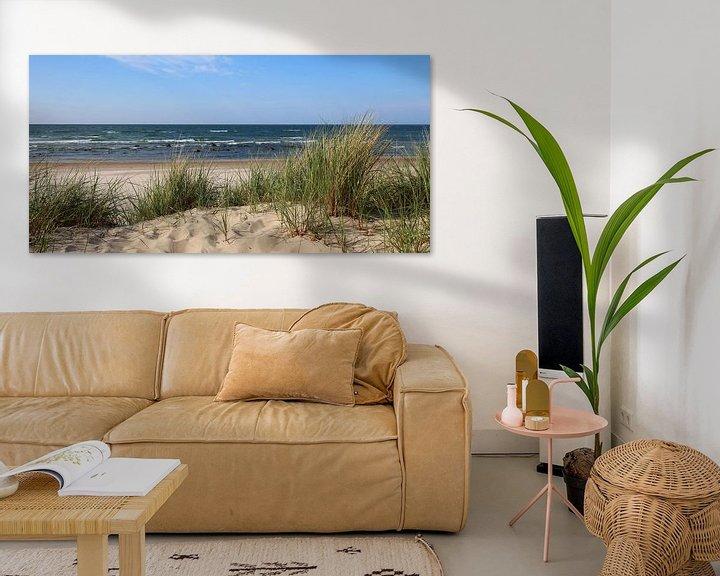 Beispiel: Dünenpanorama von Ostsee Bilder