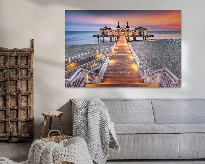 Beispiel: Märchenhafte Seebrücke (Sellin / Rügen) von Dirk Wiemer