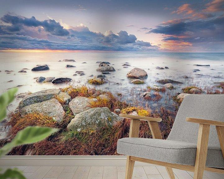Sfeerimpressie behang: Am Kap Arkona (Wittow / Rügen) van Dirk Wiemer