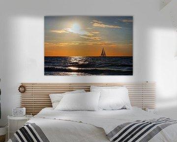 Sonnenuntergang van Ostsee Bilder