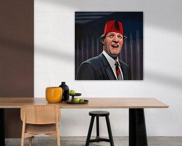 Tommy Cooper schilderij von Paul Meijering
