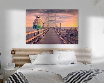 Tauchgondel an der Seebrücke (Zingst / Darß) von Dirk Wiemer