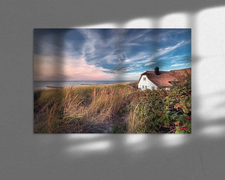 Beispiel: Haus am Meer (Ahrenshoop / Darß) von Dirk Wiemer