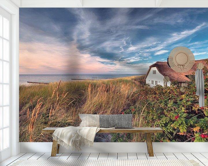 Beispiel fototapete: Haus am Meer (Ahrenshoop / Darß) von Dirk Wiemer