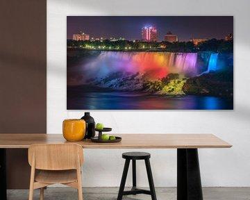 Niagara Falls, American Falls, Canada van Henk Meijer Photography