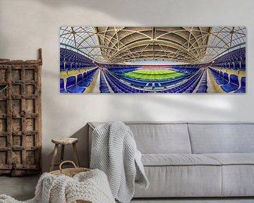 Feijenoord Stadion De Kuip in Panorama