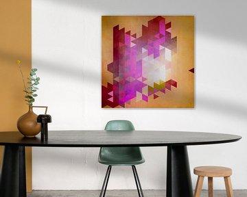 Triangle Pattern Design van Markus Wegner