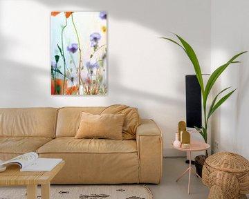 Mohnblumen und Kornblumen von Markus Wegner