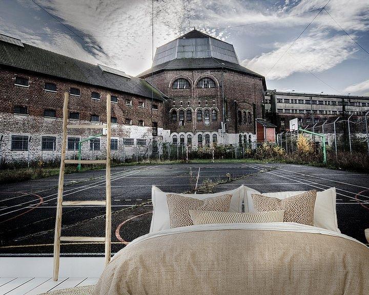 Beispiel fototapete: Urbex The prison von Mario Visser