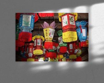 Chinese lampionnen van Inge Hogenbijl