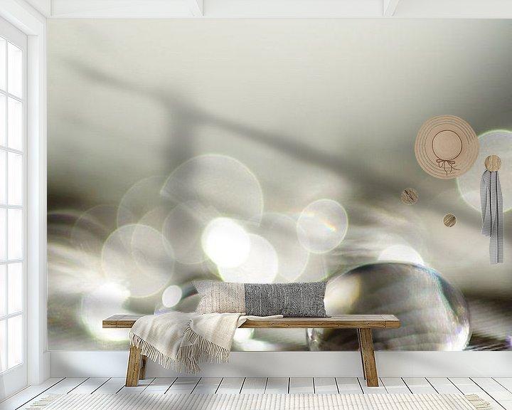 Sfeerimpressie behang: Delicate van Carla Mesken-Dijkhoff