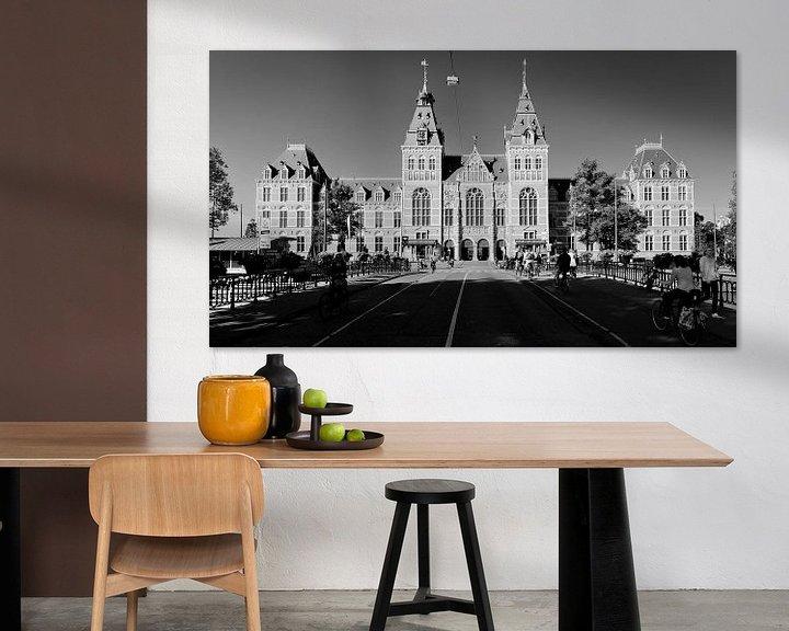 Sfeerimpressie: Rijksmuseum Amsterdam van Tom Elst