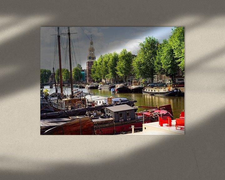 Sfeerimpressie: Montelbaanstoren Amsterdam van Tom Elst