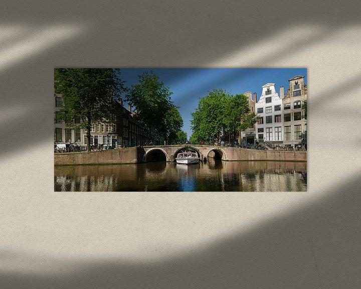 Sfeerimpressie: Herengracht Leidsegracht Amsterdam van Tom Elst