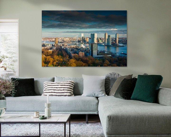 Sfeerimpressie: Rotterdam skies van Ilya Korzelius