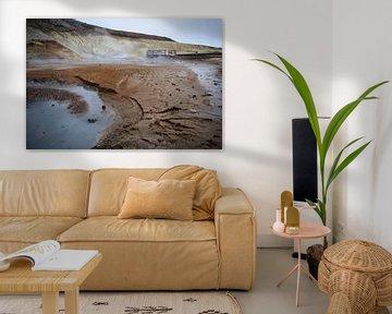 Sulfaatbronnen van Krysuvik IJsland