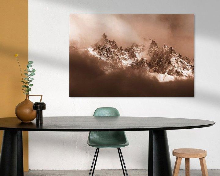 Sfeerimpressie: Aiguilles de Chamonix van Menno Boermans