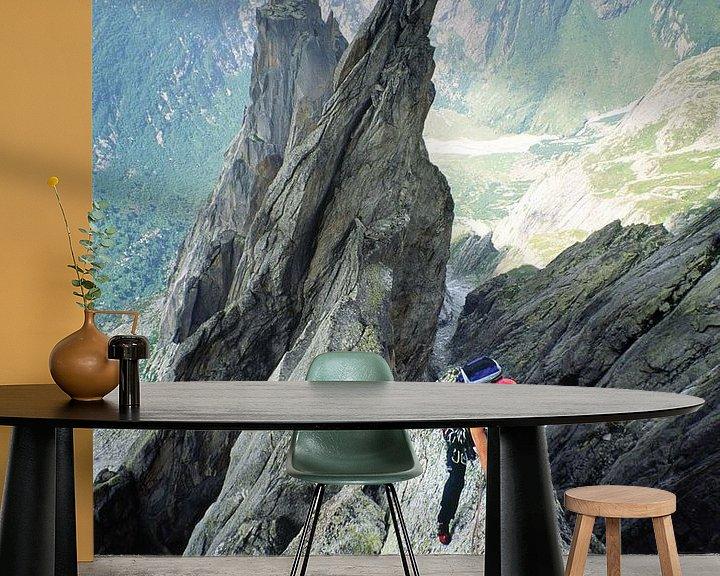 Sfeerimpressie behang: Salbit westgraat van Menno Boermans