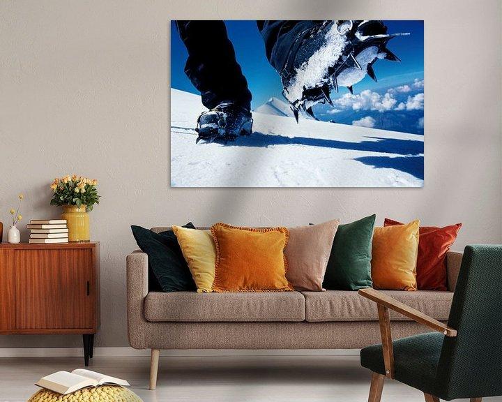 Beispiel: Steigeisen am Mont Blanc von Menno Boermans