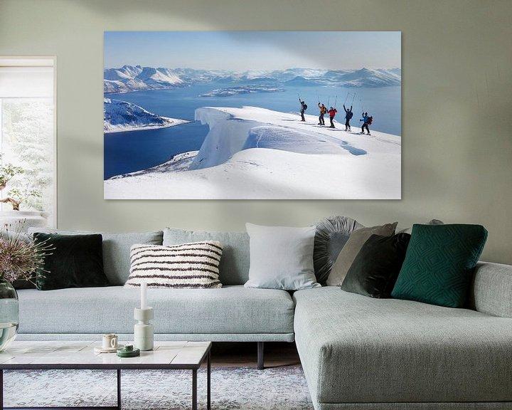 Sfeerimpressie: Lyngen Alpen van Menno Boermans