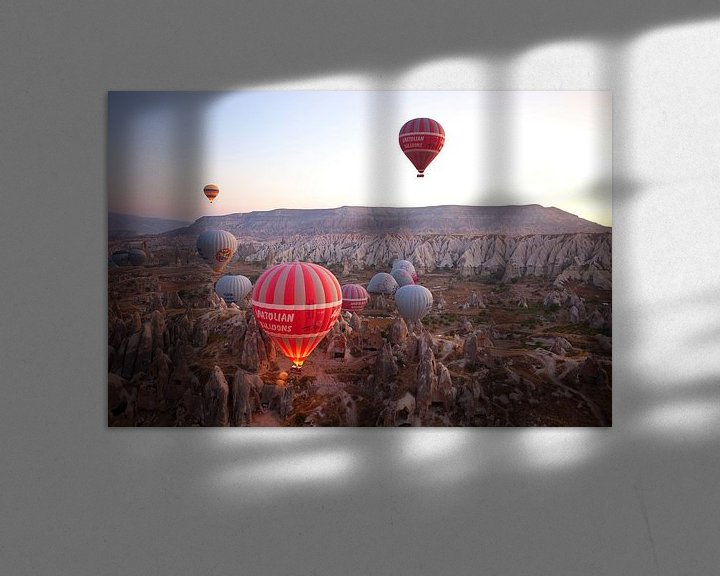 Sfeerimpressie: Cappadocie van Menno Boermans