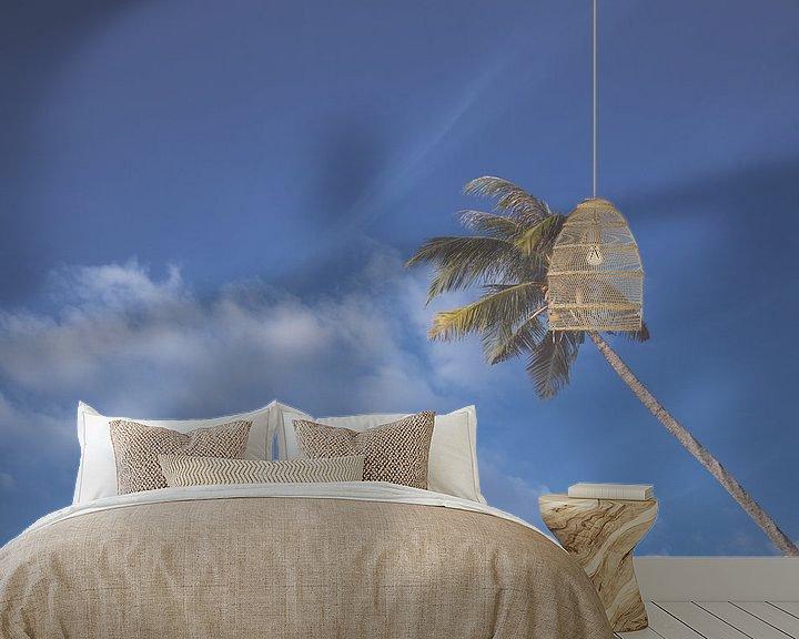 Sfeerimpressie behang: Palms van Niels Boere