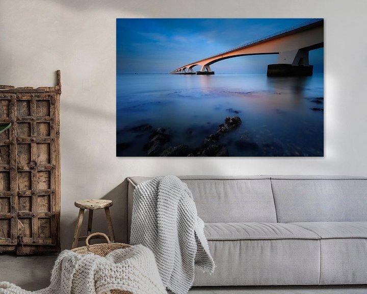 Sfeerimpressie: Zeelandbrug van Arjan Keers