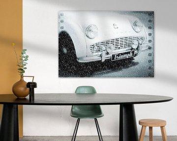Triumph in the Snow van Nicky`s Prints