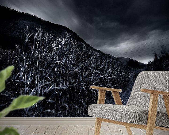 Sfeerimpressie behang: Upcoming Storm  Upcoming Storm van Jip van Bodegom