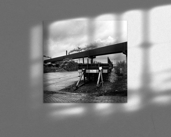Beispiel: Oude goederentrein Westpoort von Marlon Mendonça Dias