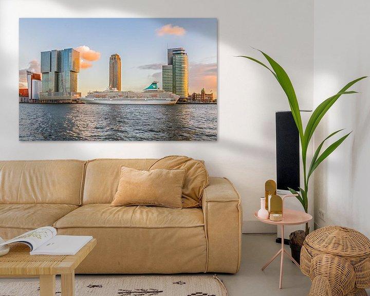 Sfeerimpressie: Cruiseschip MS Artania in Rotterdam van MS Fotografie | Marc van der Stelt