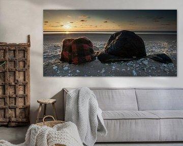 Summer Love At The Beach van Hans Brinkel