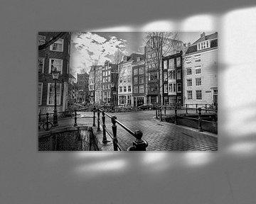 Rechtboom und Kromboomsloot in Amsterdam von Don Fonzarelli
