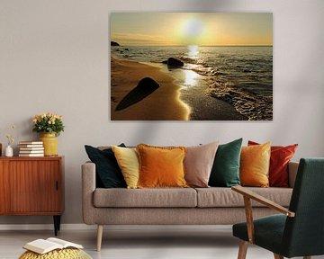 Goldstrand von Ostsee Bilder